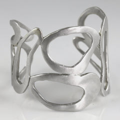 Large Melted Ovals Cuff