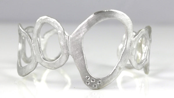 Melted Ovals Cuff