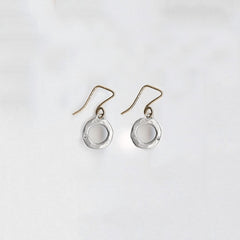1/2 pair Open Round Earrings