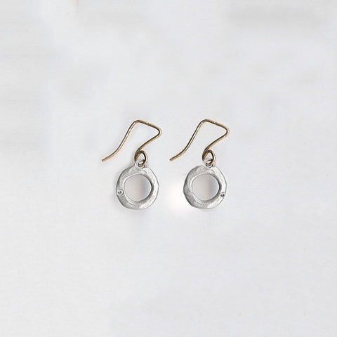 Open Round Earrings