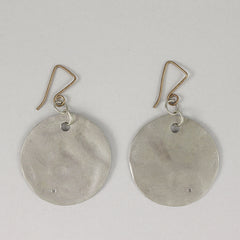 "1.25"" Solid Round Earrings"
