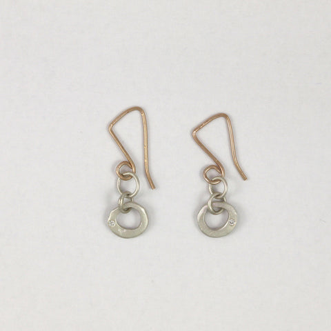 Small Open Orb Earrings