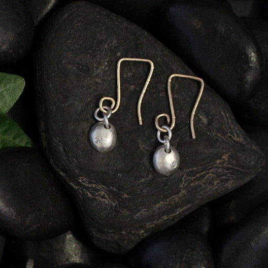 Small Raindrop Earrings