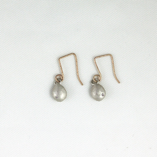 Medium Sterling Silver Gemstone Earrings