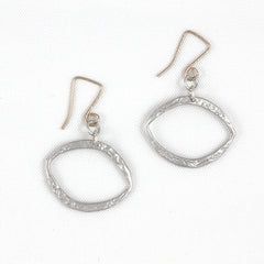 Moon Oval Earrings