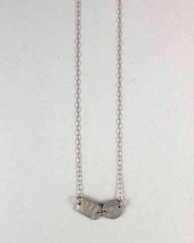 A Boy + A Girl Necklace