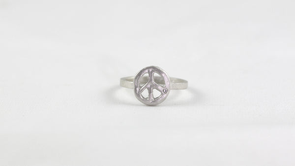 Small Peace Ring