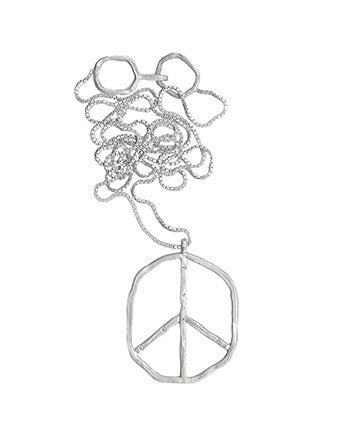 Organic Peace Necklace