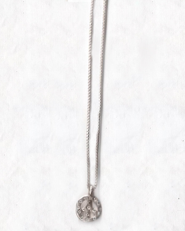 Diamonds for Peace Necklace