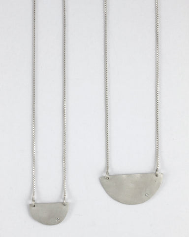Horizontal Luna Necklace