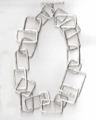 Squares and Rectangles Necklace