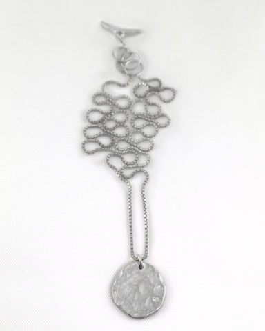 Solid Disc Necklace