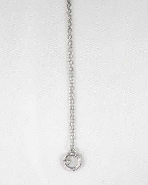 Bezel Swing Necklace