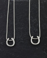 Organic Horseshoe Necklace 9