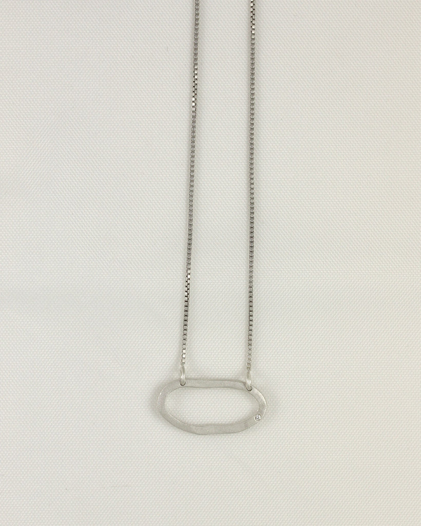 Horizontal Loop Necklace