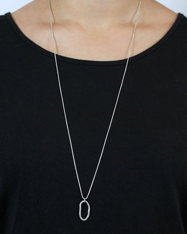Vertical Loop Necklace