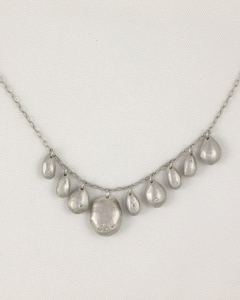 Sterling Silver Gem Party Necklace