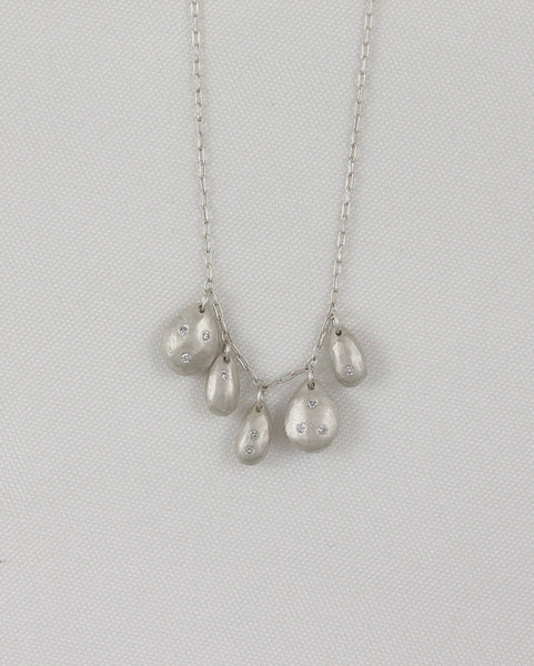 Sterling Silver Gem Spree Necklace
