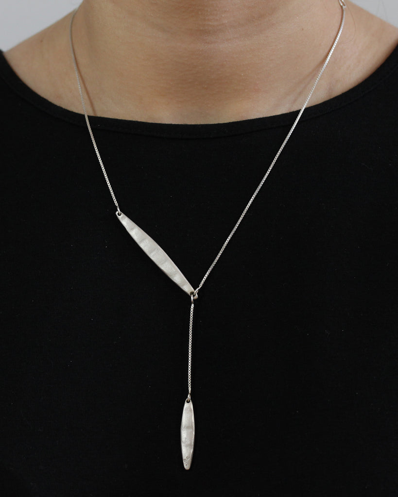 Dangling Blade Necklace