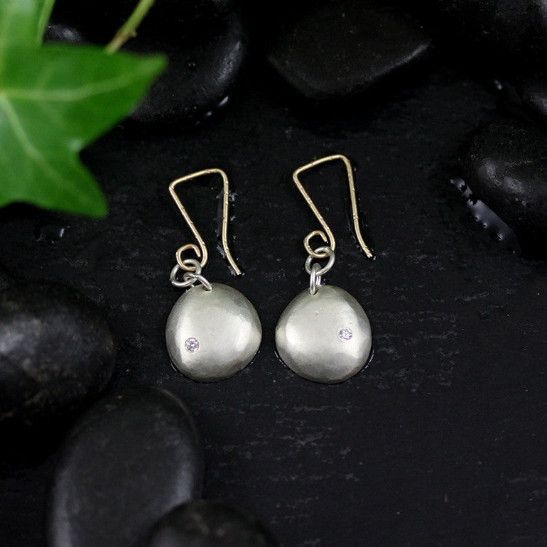 Large Raindrop Earrings