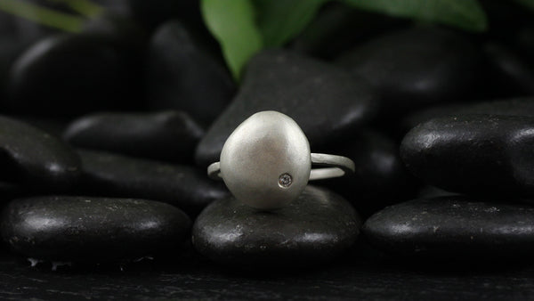 Large Raindrop Ring
