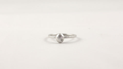 Small Raindrop Ring