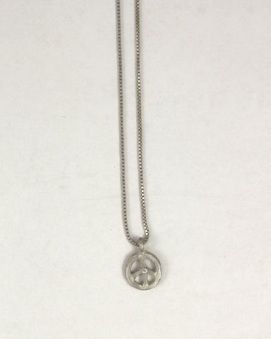 Mini Peace Necklace