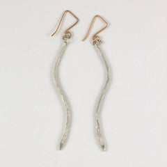 """S"" Curve Earrings"