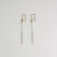 1/2 Stix on Chain Earrings