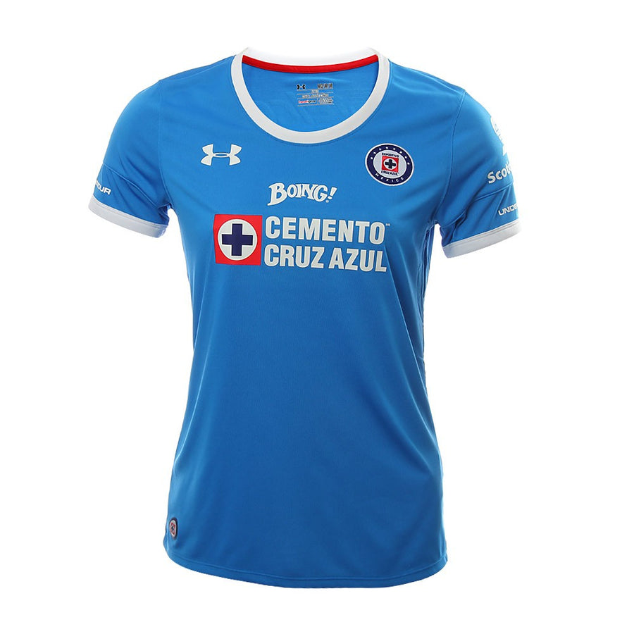 Jersey Under Armour Cruz Azul 16/17 Local Dama