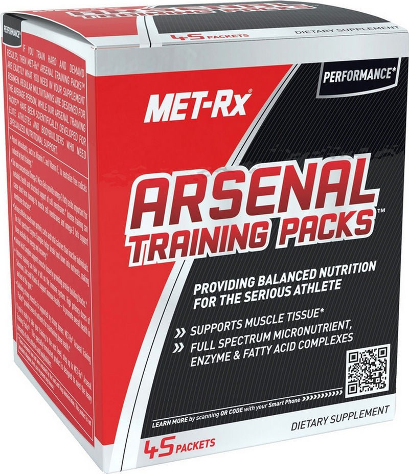 Arsenal Training45 pk  Met Rx