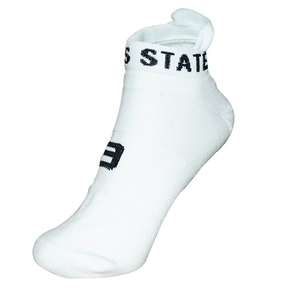 Champs State Calcetines Blanco/negro Pack 3