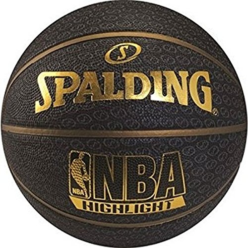 Balón Spalding Gold NBA Highlight