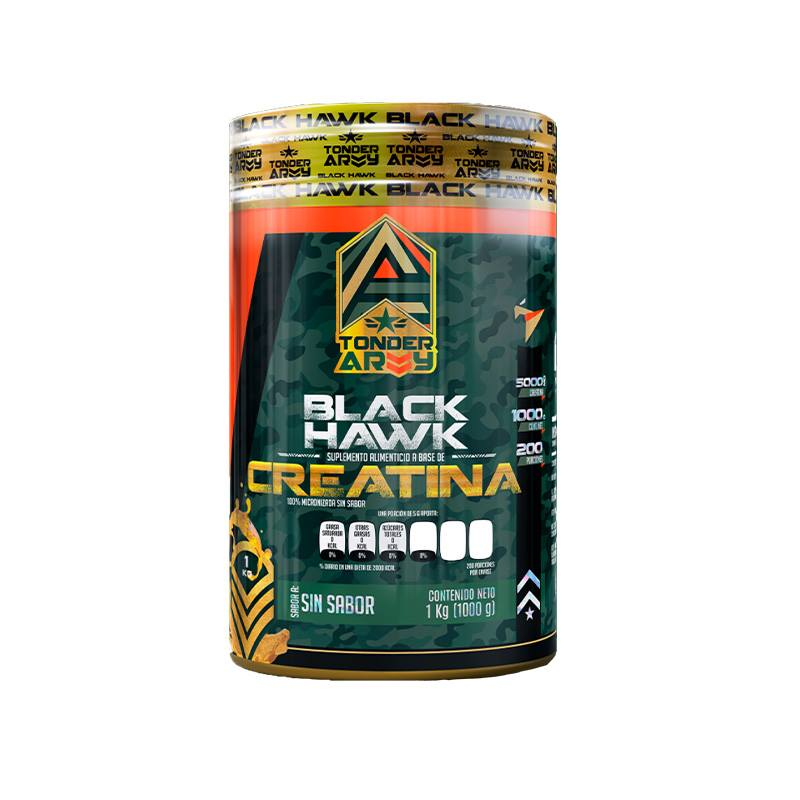 Black hawk Creatina 1kg