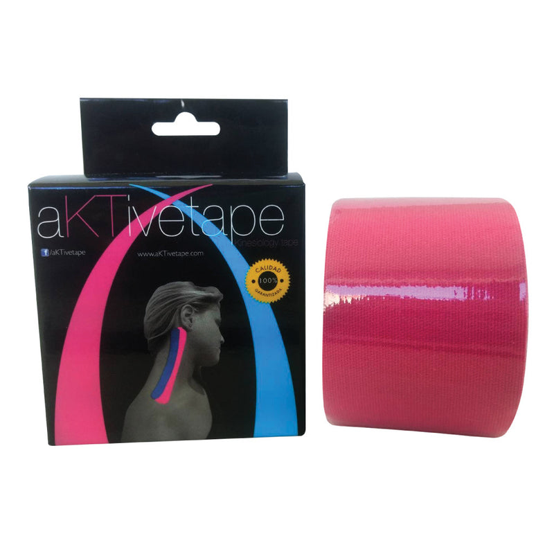 Aktive Tape Cinta Deportiva Color Rosa