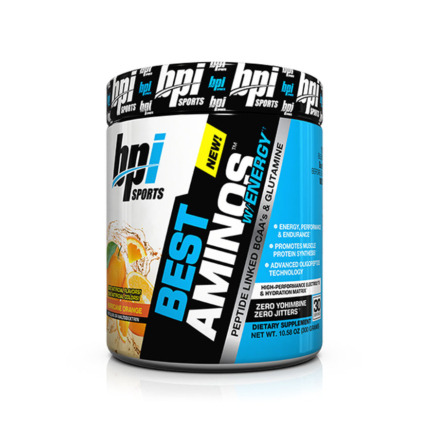 BPI Sports - Best Amino W/ Energy Hurricane Orange - 30 SERVICIOS