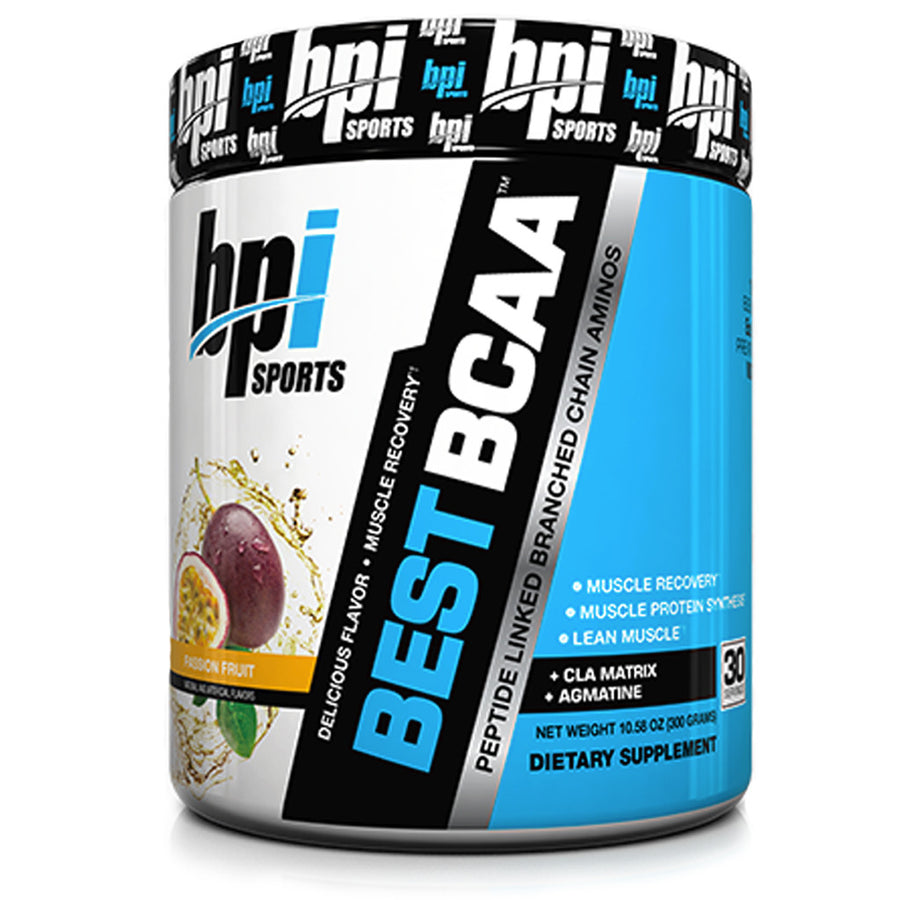BPI Sports - Best BCAA Pasion Fruit- 30 SERVICIOS