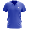 Playera Champs State Cuello V Caballero Azul Royal