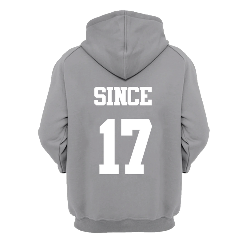 Hoodie Champs State Gris Jaspe