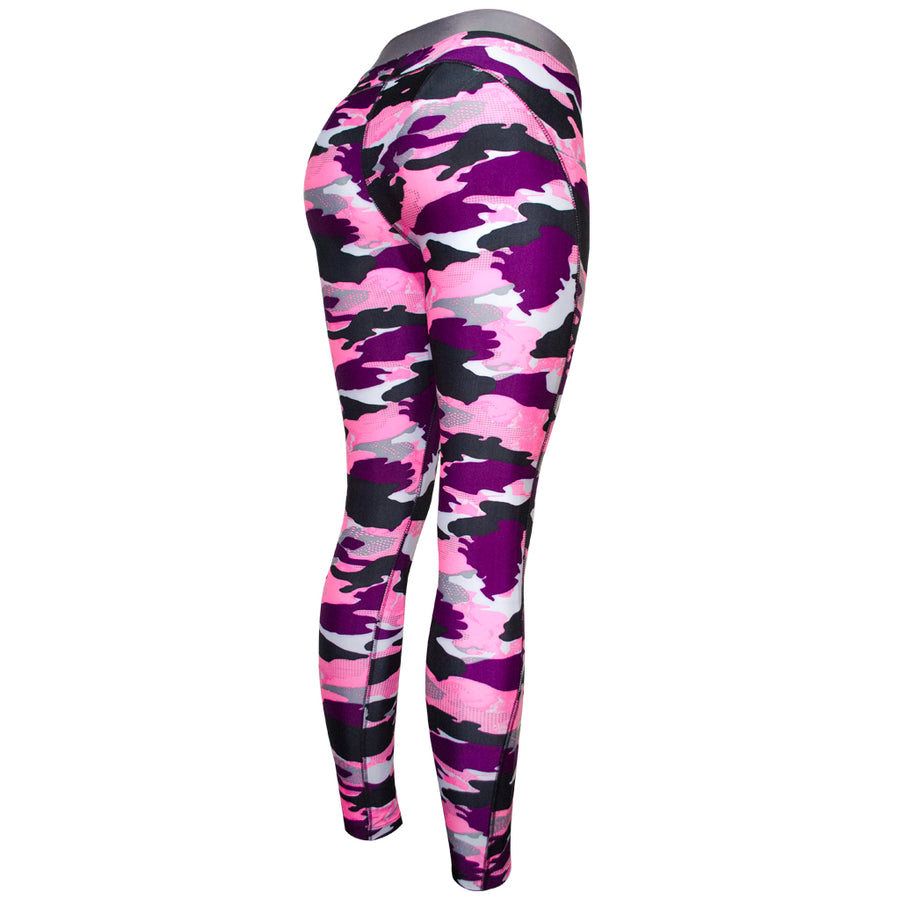 Legging Deportivo Mujer Champs State CamoPink