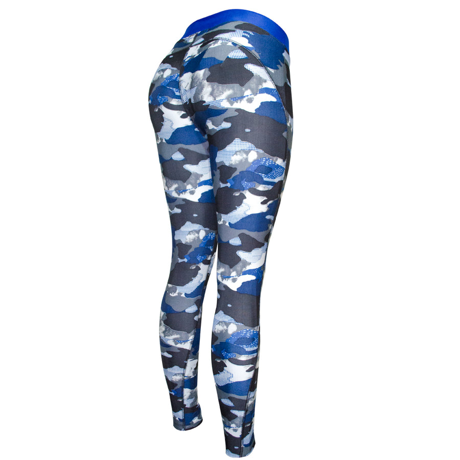 Legging Deportivo Mujer Champs State CamoBlue