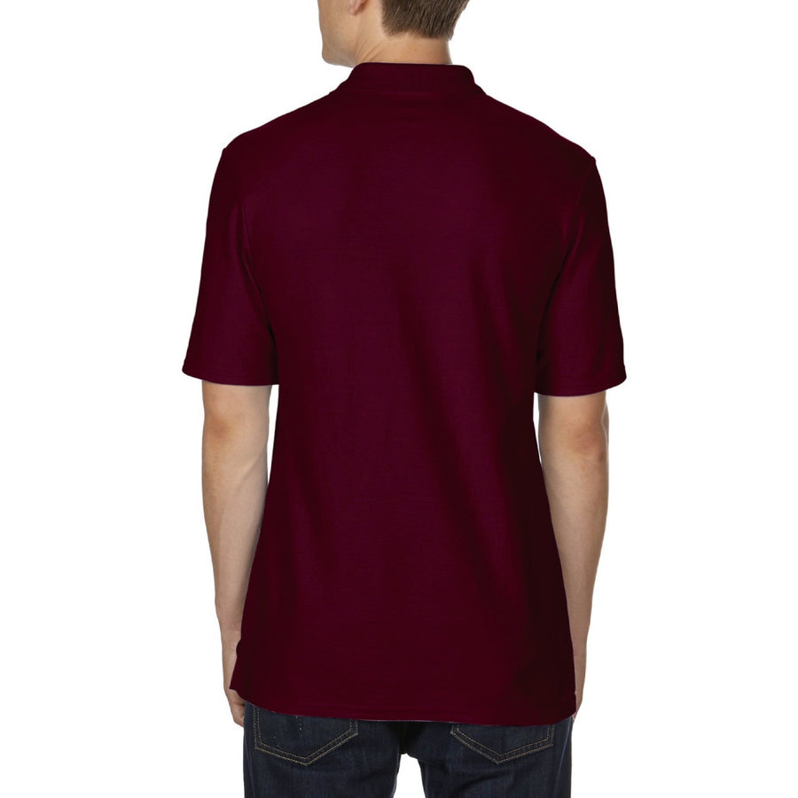 Playera tipo Polo Caballero Marron