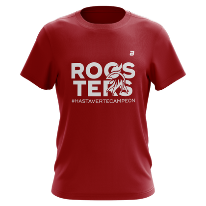 Playera Roosters Rugby Roja