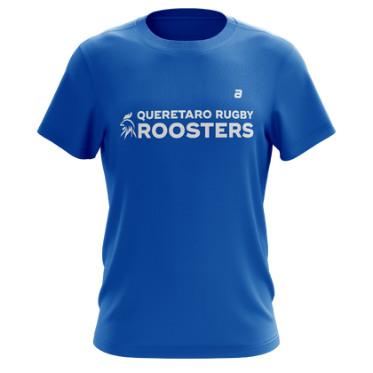 Playera Roosters Queretaro Rugby Azul