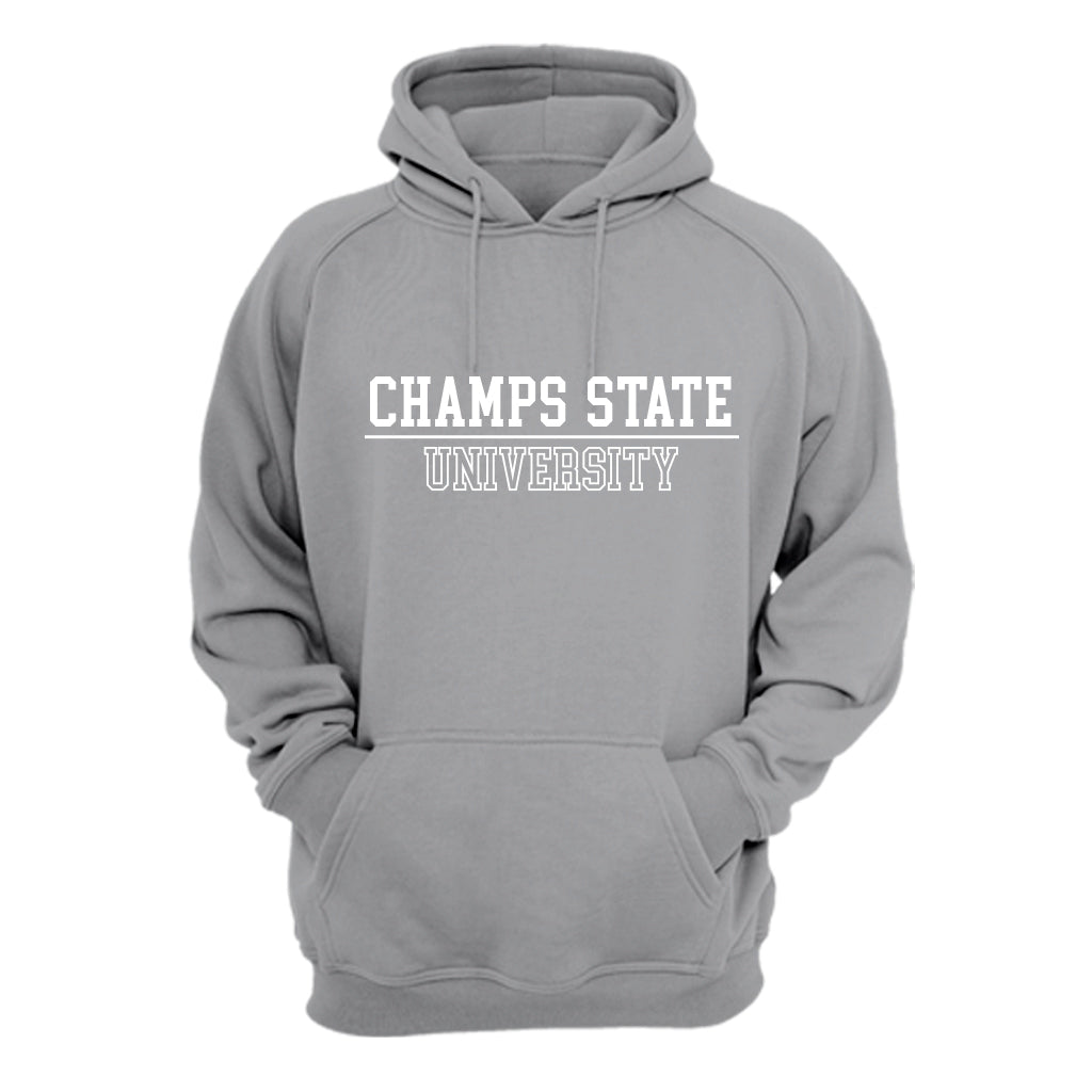 Hoodie Champs State University Gris Jaspe