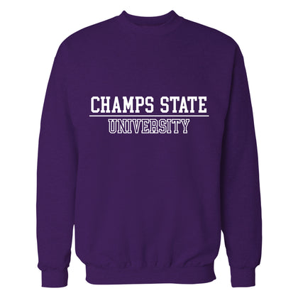 Sudadera  Champs State University Purpura