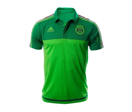 Polo Adidas Seleccion Mexicana Verde