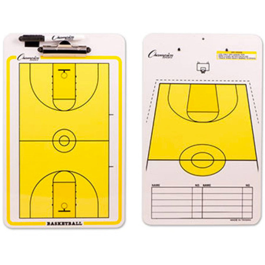 Tabla de Entrenador de Basquetbol Premium de Champion Sports