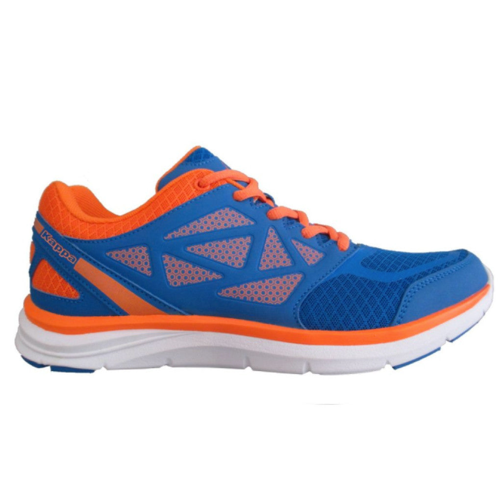 Tenis Kappa Fanger Running Hombre Blue Lt/orange