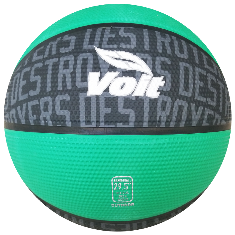 Balon Basketball Voit Destroyers Verde
